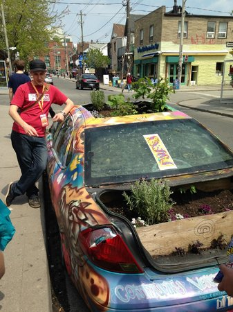 Toronto Urban Adventures: James with the Garden Car