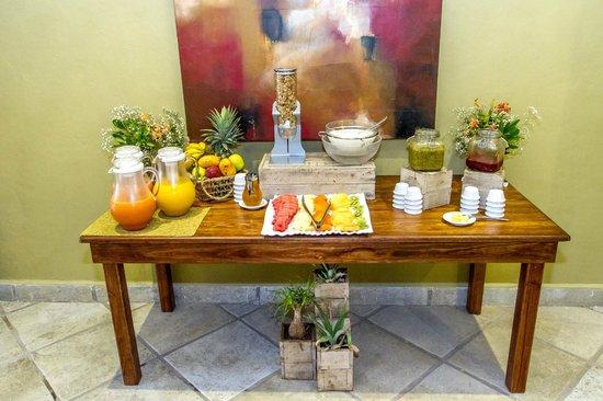 Hotel Riviera del Sol: Desayuno Continental Riviera del Sol