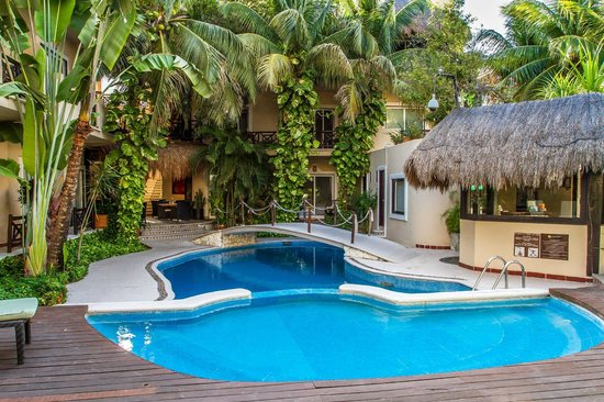 Hotel Riviera del Sol: Zona Alberca Día