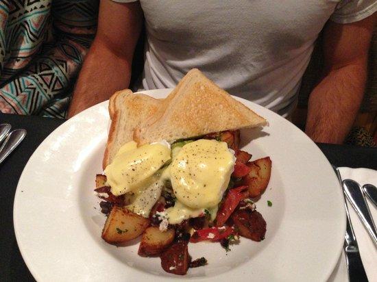 Heron Rock Bistro: Breakfast Cubano