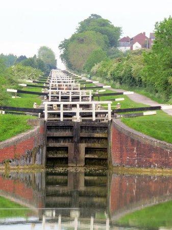 Caen Hill Locks: Caen Flight