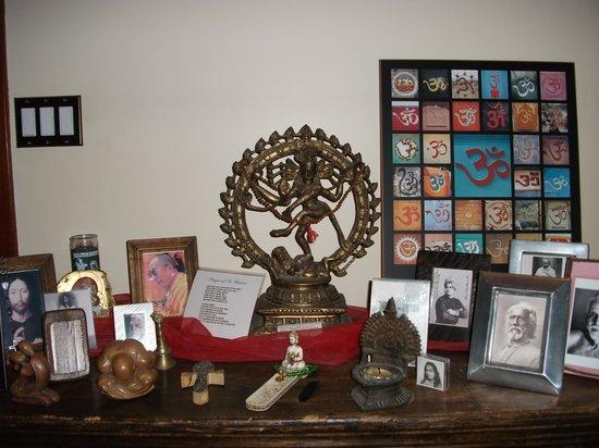 Shanti Retreat: the Altar