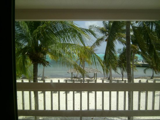 Little Cayman Beach Resort: View from our Ocean Front Room