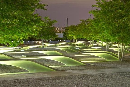 Pentagon Memorial: Stunning and sobering, but beautiful