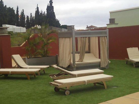 Aparthotel El Galeon: zona comun azotea