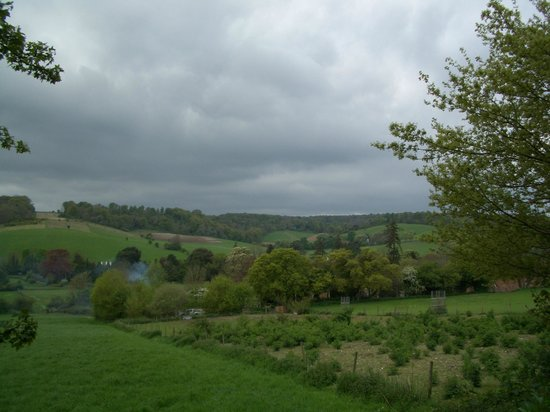 SHO4 Travel Oxford Tours: Beautiful Chilton Hills view