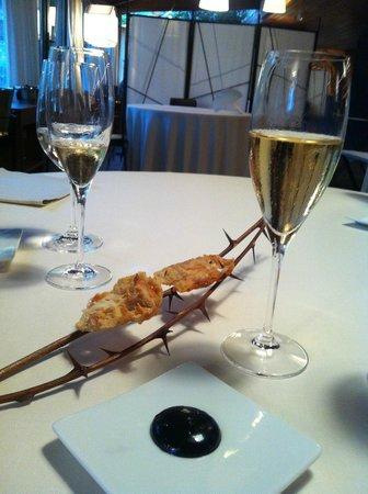 Mugaritz: Просто тосты на терновнике