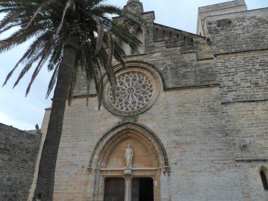 Casco antiguo de Alcudia: church