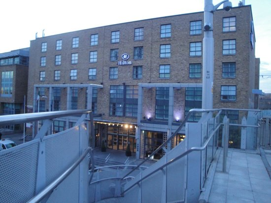 Hilton Dublin: The hotel from the LUAS station
