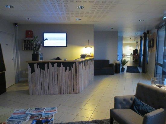 Hotel de la Baie de Wissant : Notre Réception