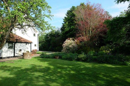 White House Farm: House and garden