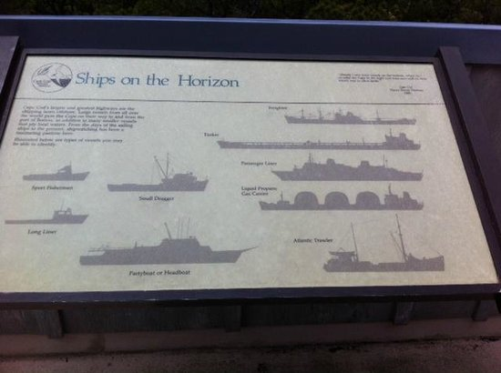 Province Lands Visitor Center : Ships that Pass in the Night