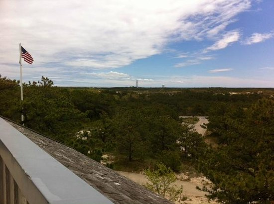 Province Lands Visitor Center: View of Monument True