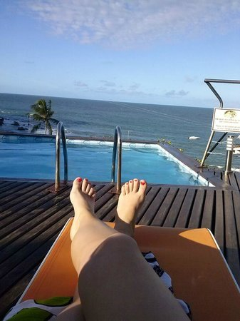 Hotel Pousada Ilha da Saudade: vista piscina.