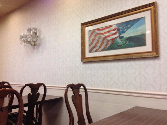 BEST WESTERN Plus Big America: You can get an how the hotel is decorated based on the conference room decor