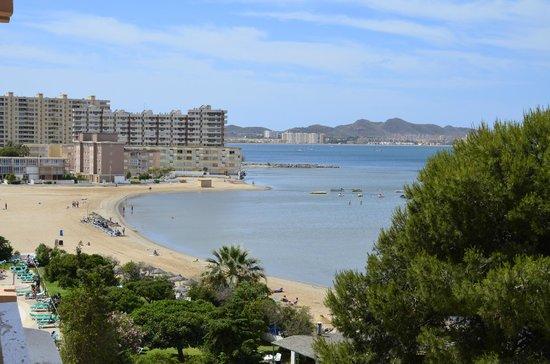Hotel Cavanna: Vistas desde el piso 4
