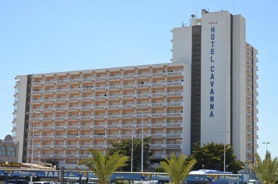 Hotel Cavanna: El Hotel...