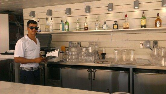 COMO Metropolitan Miami Beach: Very nice bartender