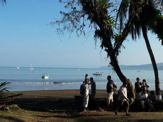 Cabinas Manolo: playa del desembarco