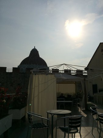 Hotel Giardino Tower Inn : rooftop terrace.