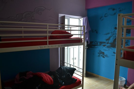 Cloud 9 Hostel: 4-bed dorm room