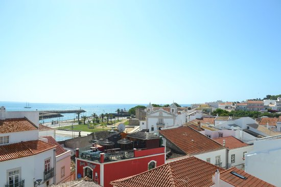 Cloud 9 Hostel : View from the terrace