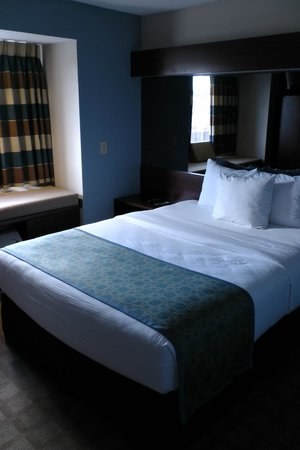 Microtel Inn & Suites Greenville: Bett