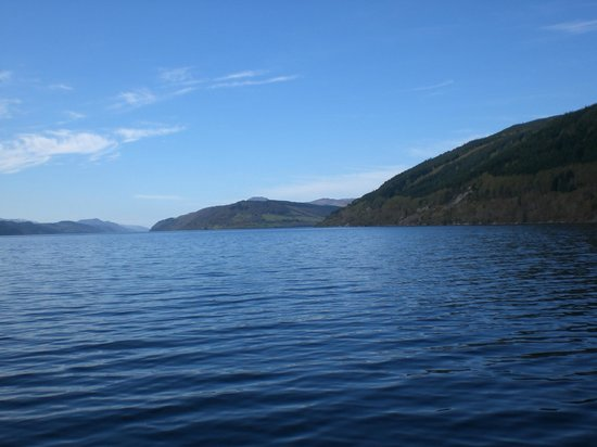Loch Ness by Jacobite: View of Loch ness