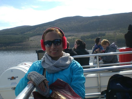 Loch Ness by Jacobite: On the boat