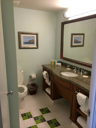 Atlantis, Coral Towers, Autograph Collection: Our beautiful bathroom