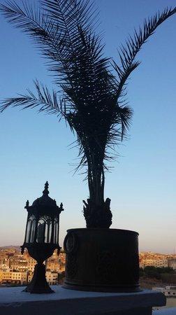 Riad Arabesque: depuis la terrasse