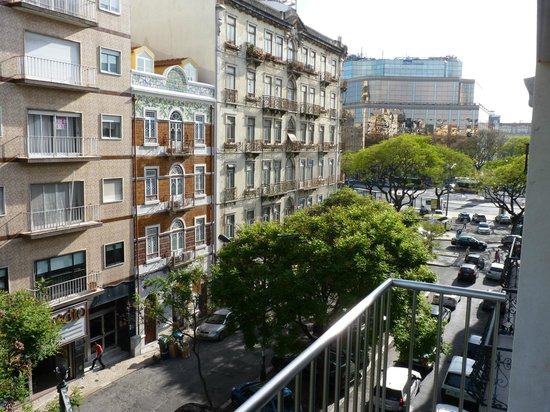Olissippo Saldanha: zicht vanaf balkon