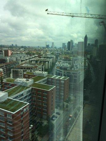 Radisson Blu Hotel, Frankfurt: Aussicht