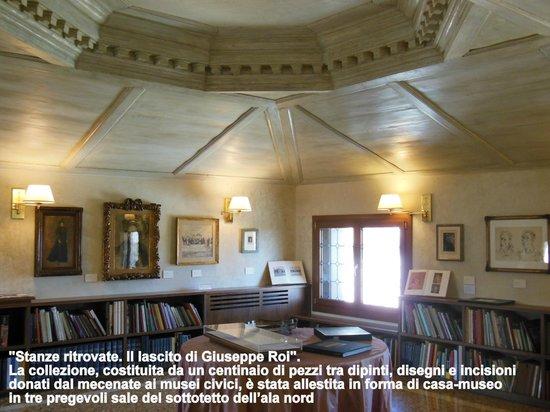 Palazzo Chiericati : stanza collezione Roi