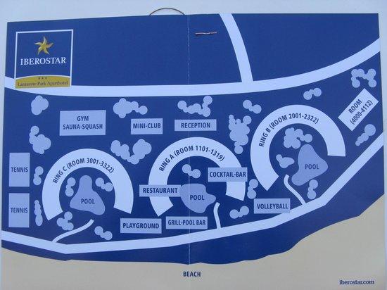 IBEROSTAR Lanzarote Park : Hotel layout