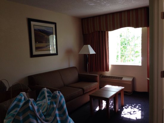 MainStay Suites : Lots of Room!