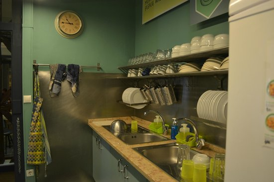 Goodmorning Hostel : Kitchen