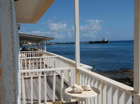 Golden Era Hotel: View from Private Deck looking South