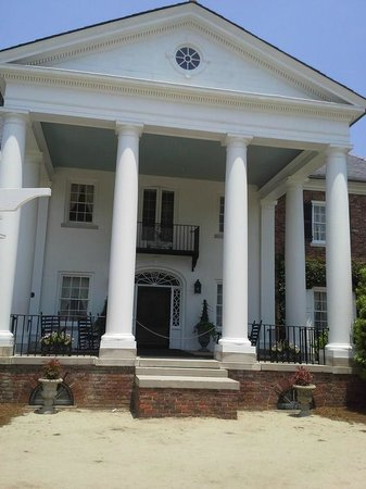 Boone Hall Plantation: View at the front.
