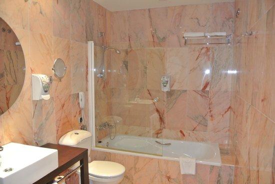 Salles Hotel Malaga Centro : bathroom