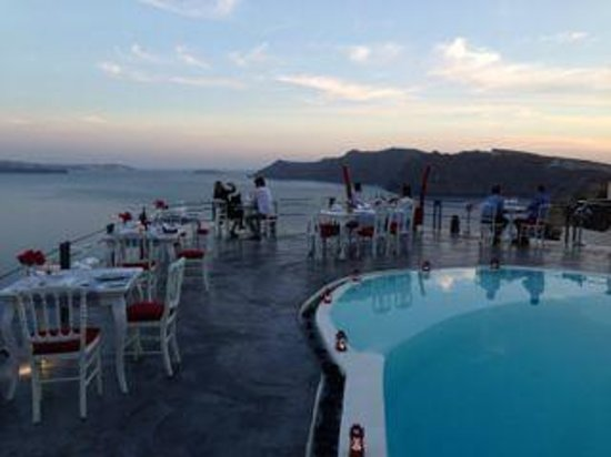 Andronis Boutique Hotel : Spectacular spot for dining!