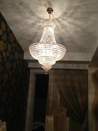 Grand Hotel Resort Ma&Ma: lampadario