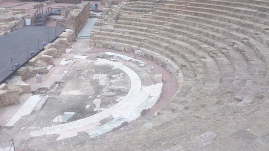 Alcazaba Malaga - Neighbouring Roman Theatre