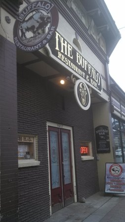 Buffalo Restaurant & Bar: Historical building.