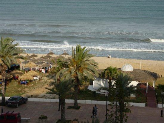Yasmine Beach Resort: vue de la chambre