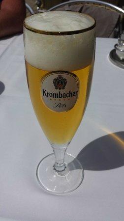 Bei Pepe: Bier