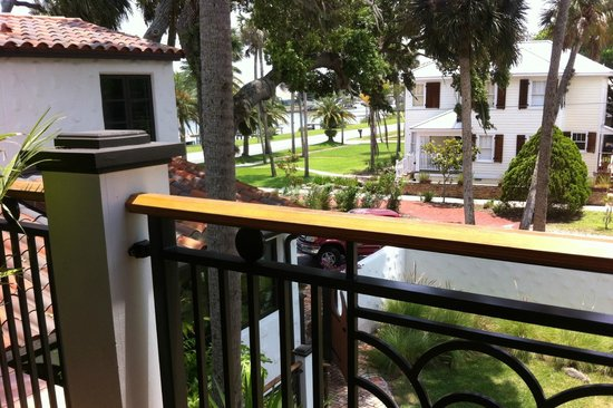Black Dolphin Inn: The view from one of our balconies.