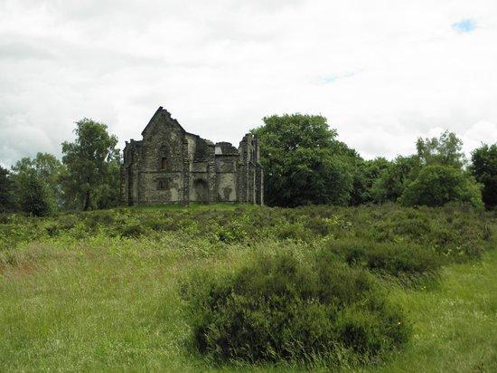Le Mont Gargan : la chapelle Notre-Dame-de-Bon-Secours