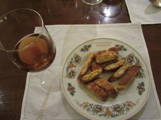 Cantinetta Antinori: Traditional Tuscan Almond Cookies with Vin Santo