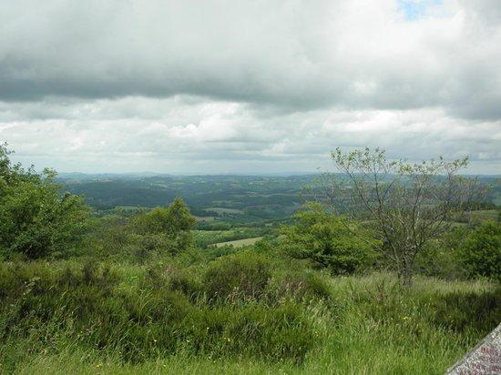 Le Mont Gargan : vue à 360 ° sur le limousin